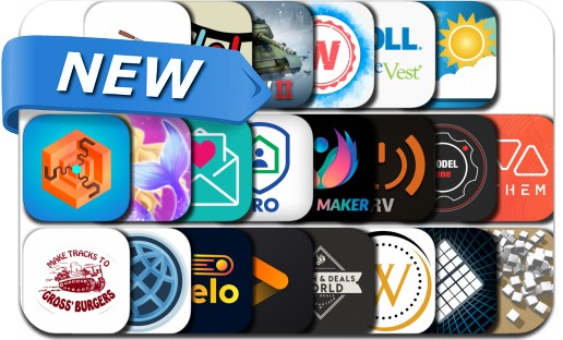 Newly Released iPhone & iPad Apps - August 8, 2019