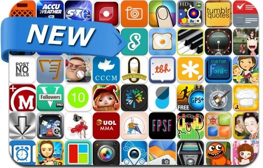 Newly Released iPhone & iPad Apps - May 25