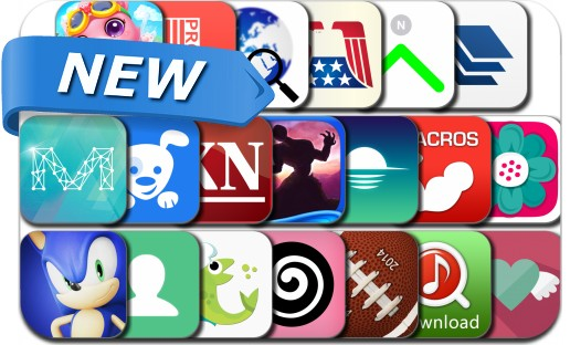 Newly Released iPhone & iPad Apps - July 15, 2014