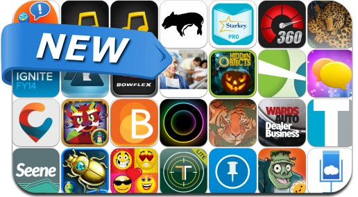 Newly Released iPhone & iPad Apps - October 15