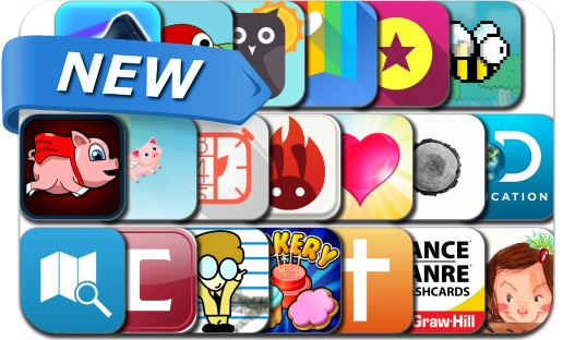 Newly Released iPhone & iPad Apps - February 19, 2014