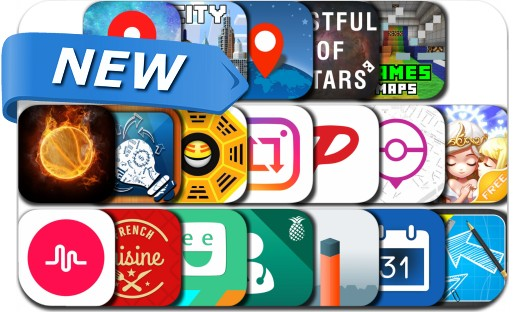 Newly Released iPhone & iPad Apps - August 7, 2016