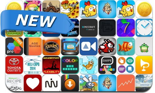Newly Released iPhone & iPad Apps - February 20, 2014