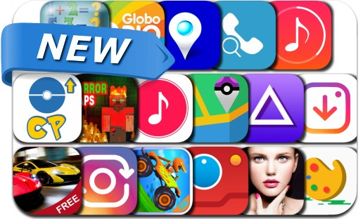 Newly Released iPhone & iPad Apps - August 1, 2016