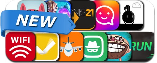 Newly Released iPhone & iPad Apps - March 7, 2017