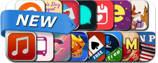 Newly Released iPhone & iPad Apps - May 10, 2015