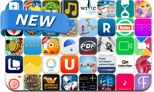Newly Released iPhone & iPad Apps - September 26