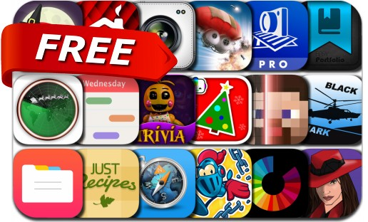 iPhone & iPad Apps Gone Free - December 20, 2015