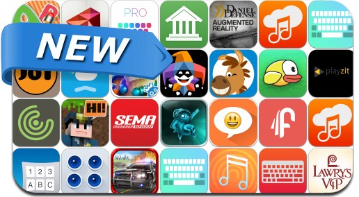 Newly Released iPhone & iPad Apps - October 4, 2014