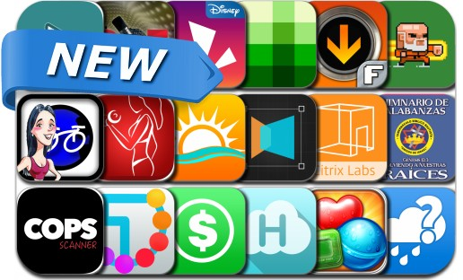 Newly Released iPhone & iPad Apps - September 30, 2014