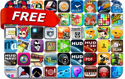 iPhone & iPad Apps Gone Free - May 23