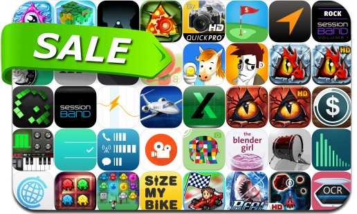 iPhone & iPad App Price Drops - July 25, 2015