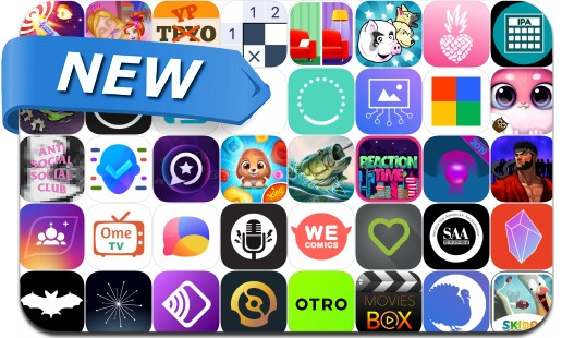Newly Released iPhone & iPad Apps - March 18, 2019