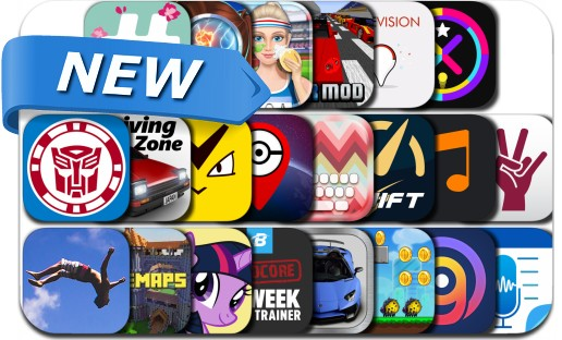 Newly Released iPhone & iPad Apps - September 11, 2016