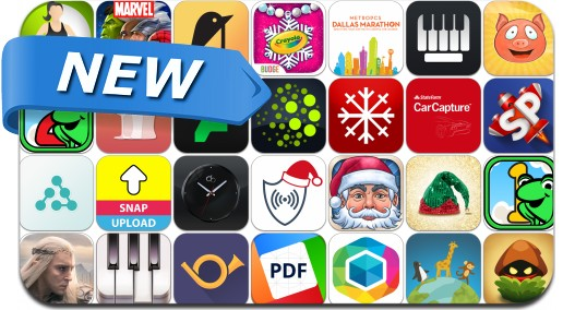 Newly Released iPhone & iPad Apps - December 11, 2014