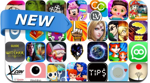 Newly Released iPhone & iPad Apps - July 24, 2015