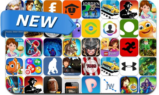 Newly Released iPhone & iPad Apps - August 1, 2014