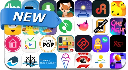 Newly Released iPhone & iPad Apps - June 18, 2018