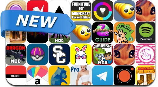 Newly Released iPhone & iPad Apps - July 16, 2016