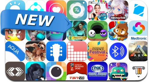 Newly Released iPhone & iPad Apps - June 16, 2018