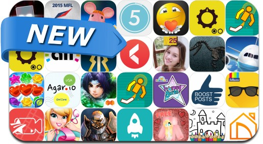 Newly Released iPhone & iPad Apps - July 19, 2015