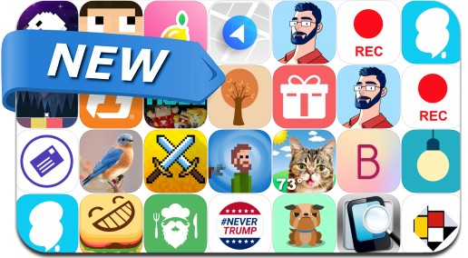 Newly Released iPhone & iPad Apps - September 17, 2016