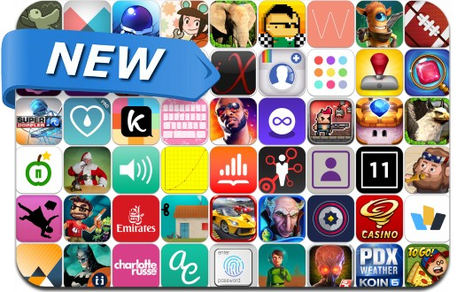 Newly Released iPhone & iPad Apps - November 14, 2014