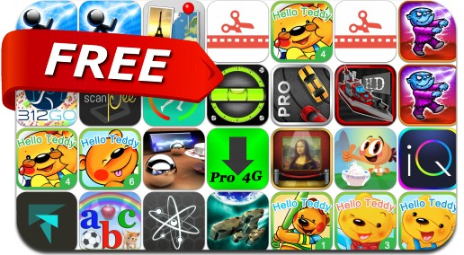 iPhone & iPad Apps Gone Free - October 1, 2014