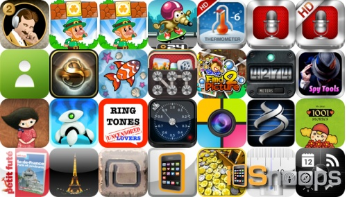 iPhone and iPad Apps Gone Free - March 13 Roundup