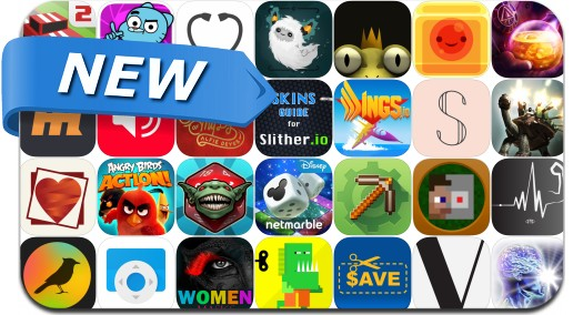 Newly Released iPhone & iPad Apps - April 29, 2016