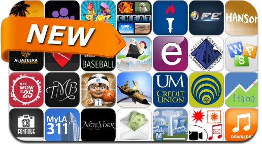Newly Released iPhone & iPad Apps - April 2