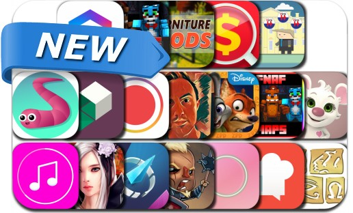 Newly Released iPhone & iPad Apps - August 20, 2016