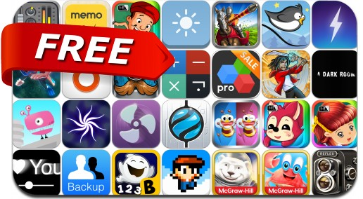 iPhone & iPad Apps Gone Free - August 1, 2014