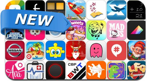 Newly Released iPhone & iPad Apps - December 18, 2014
