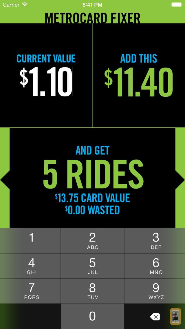Screenshot - MetroCard Fixer
