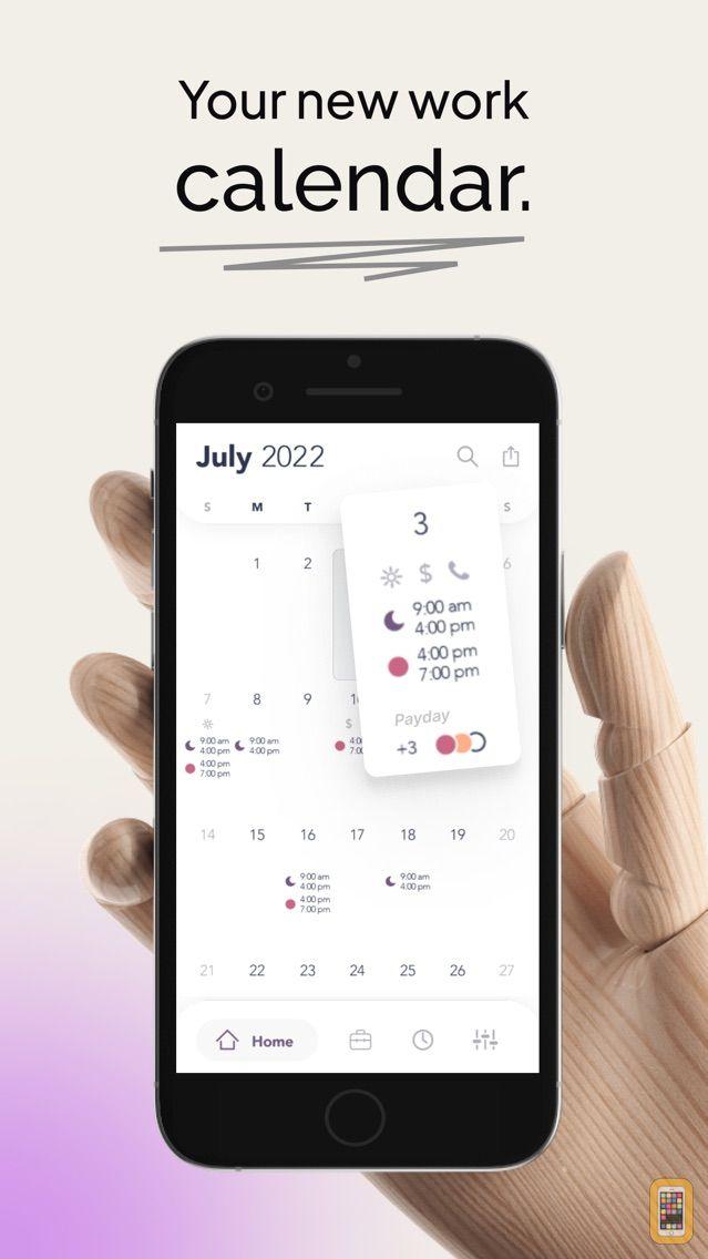 Screenshot - WorkTime: Work Shift Calendar