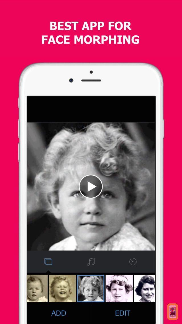 Screenshot - MORPH - Face Story & Flipagram