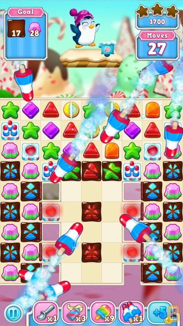 Screenshot - Frozen Frenzy Mania: Challenging Match 3 Games