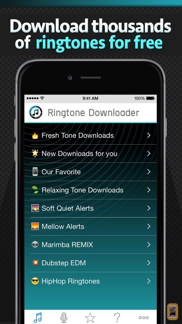 Screenshot - Free Ringtone Downloader - Download the best ringtones