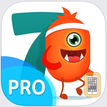 7 minute workouts with lazy monster PRO: daily fitness for kids and women by Pavel Mylnikau (Universal)