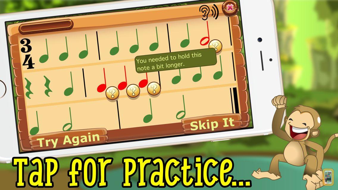 Screenshot - Rhythm Swing- Fun Rhythm Drills for Kids