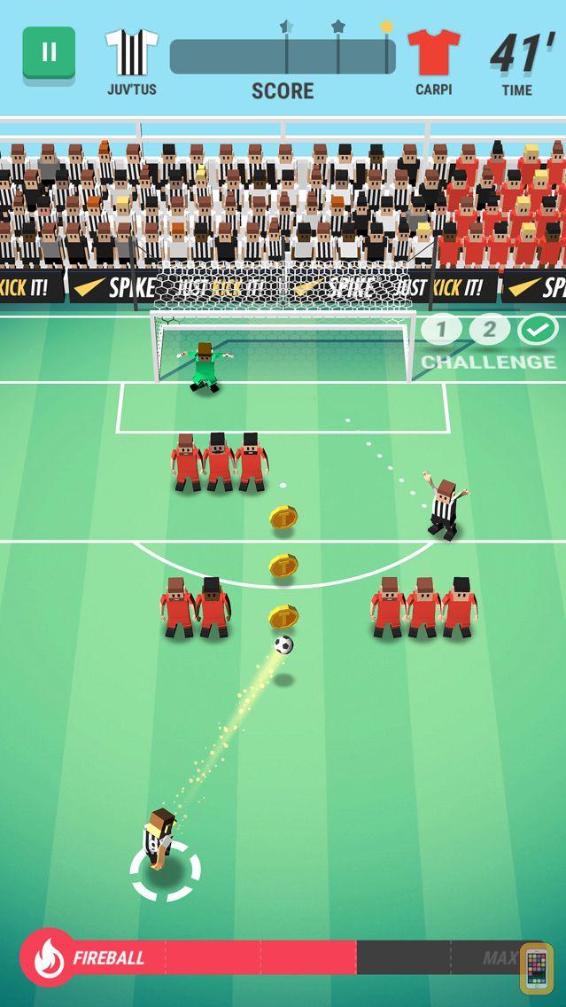 Screenshot - Tiny Striker: World Football