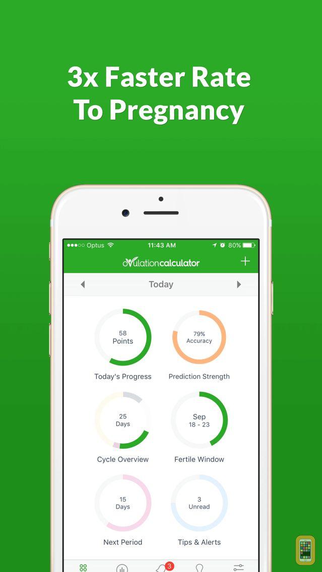 Screenshot - Ovulation Calculator Fertile Tracker & Calendar OC
