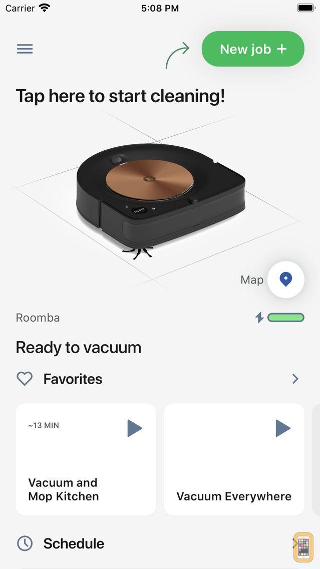 Screenshot - iRobot Home