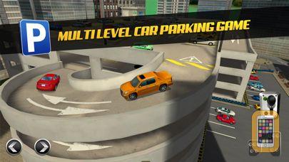 Screenshot - Multi Level 3 Car Parking Game Real Driving Test Run Racing