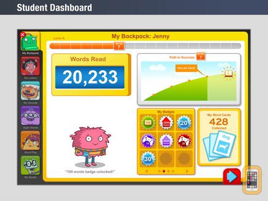 Screenshot - HMH iRead for Schools