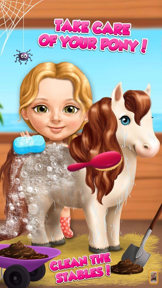 Screenshot - Sweet Baby Girl Summer Fun - Dream Seaside Spa and Pony Care