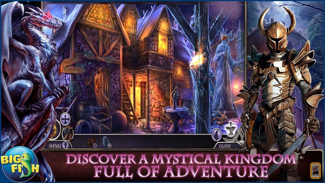 Screenshot - Dark Realm: Queen of Flames - A Mystical Hidden Object Adventure (Full)