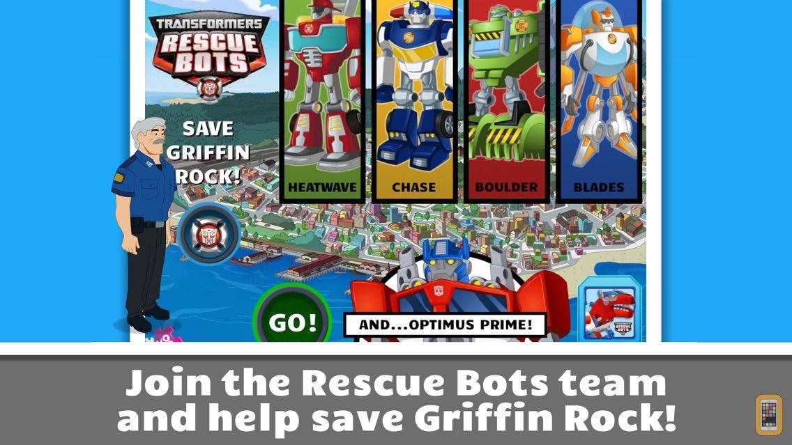 Screenshot - Transformers Rescue Bots: