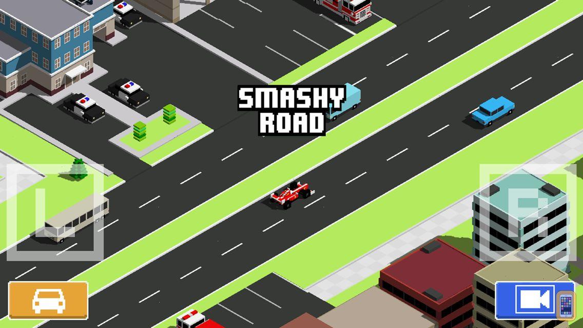 Screenshot - Smashy Road: Wanted